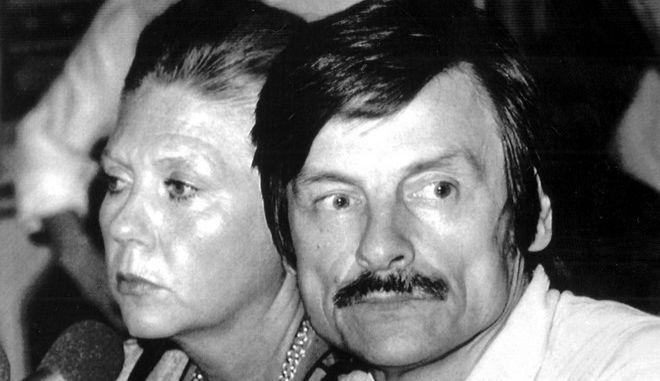 Ο Αντρέι Ταρκόφσκι με την σύζυγό του Λαρίσα σε συνέντευξη Τύπου στο Μιλάνο, τον Ιούλιο του 1984