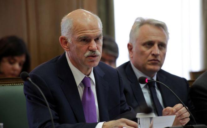 23-5-12011-ΑΘΗΝΑ-Υπό την προεδρία του πρωθυπουργού Γ. Παπανδρέου  συνεδριάζει σήμερα το υπουργικό συμβούλιο με αντικείμενο το μεσοπρόθεσμο πρόγραμμα δημοσιονομικής προσαρμογής και τις αποκρατικοποιήσεις.(EUROKINISSI-ΒΑΣΙΛΗΣ ΦΙΛΗΣ)