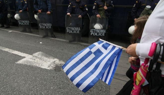 Μέτρα ασφαλείας για την παρέλαση στην Αθήνα - Φωτογραφία αρχείου