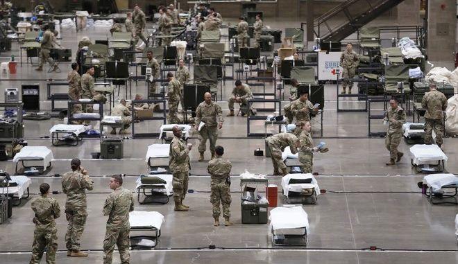 Στρατιώτες στις ΗΠΑ