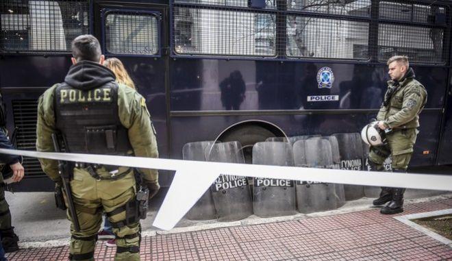 Επιχείρηση της αστυνομίας στην ΑΣΟΕΕ