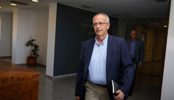 Ο αναπληρωτής υπουργός Εθνικής Άμυνας Πάνος Ρήγας