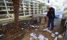 """Παρέμβαση του """"Ρουβίκωνα"""" στο Γαλλικό Ινστιτούτο Θεσσαλονίκης"""
