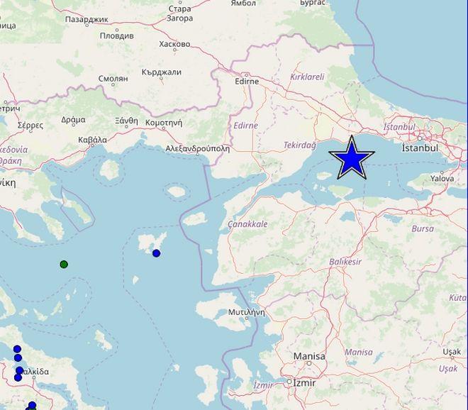 Ισχυρός σεισμός 5,8 Ρίχτερ στην Κωνσταντινούπολη