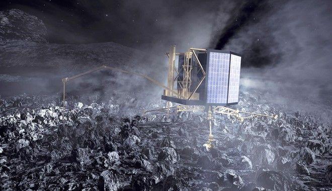 Το ρομπότ Philae ξύπνησε και είναι έτοιμο για επιχειρήσεις