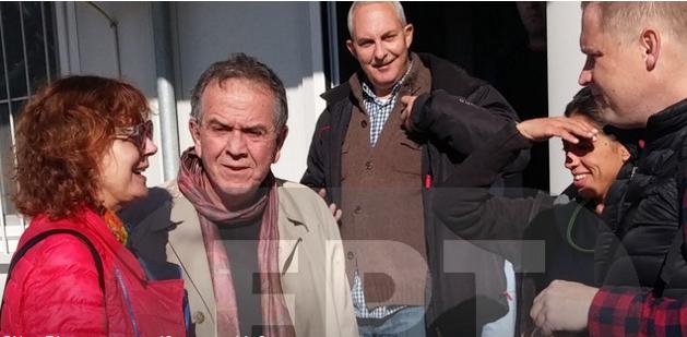 Με την Σούζαν Σάραντον συναντήθηκε ο Γιάννης Μουζάλας