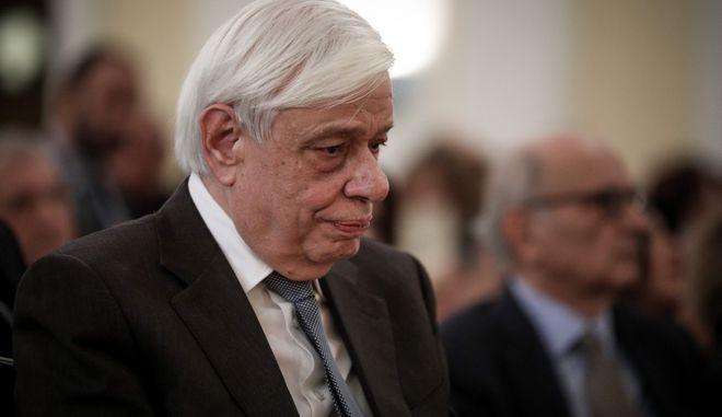 Ο Πρόεδρος της Δημοκρατίας κ. Προκόπιος Παυλόπουλος