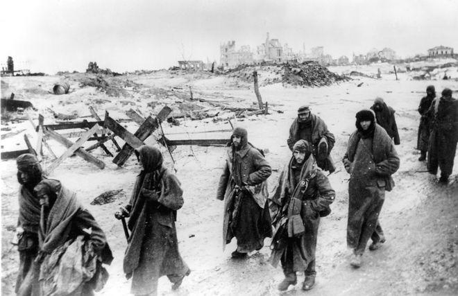 Αιχμάλωτοι Γερμανοί στη Μάχη του Στάλινγκραντ