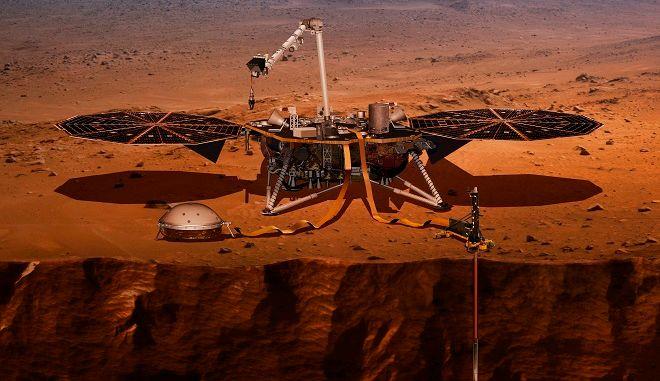 Η προσεδάφιση του Insight στον Άρη