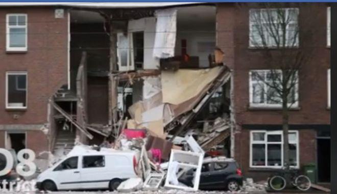 Κτίριο κατέρρευσε στη Χάγη
