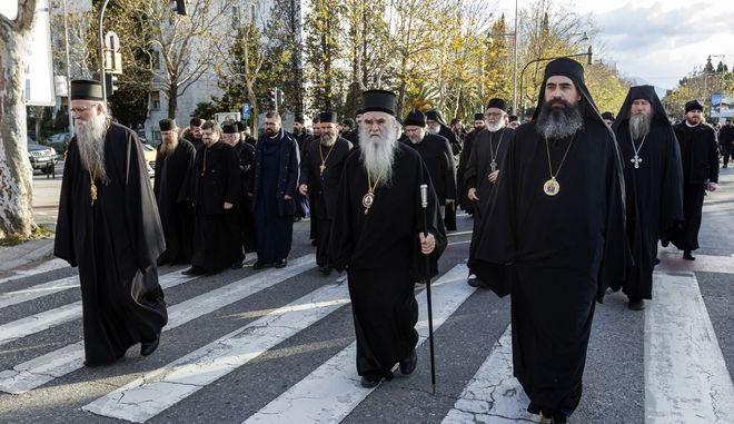 Διαδηλώσεις και αντιδράσεις της Σέρβικης Εκκλησίας
