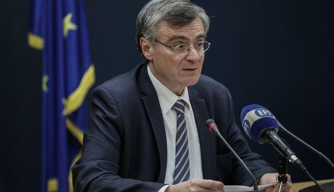 Ο εκπρόσωπος του υπουργείου Υγείας για τον κορονοϊό, Σωτήρης Τσιόδρας
