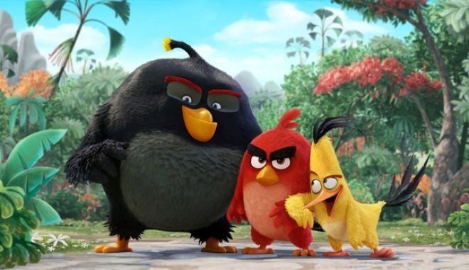 Το πρώτο τρέιλερ του «The Angry Birds Movie»