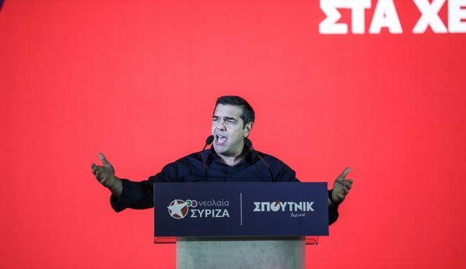 Ομιλία του Προέδρου του ΣΥΡΙΖΑ Αλέξη Τσίπρα στο Φεστιβάλ ΣΠΟΥΤΝΙΚ