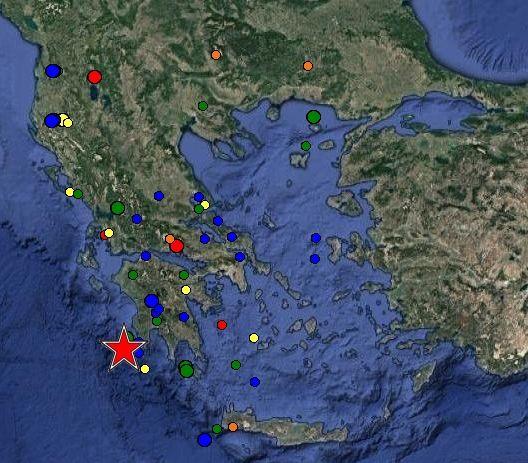 Σεισμός 5,3 Ρίχτερ στην Πύλο