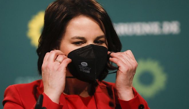 H ηγέτης των Πράσινων Αννα Μπέρμποκ