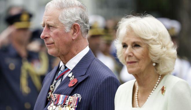 Ο πρίγκηπας Κάρολος και η σύζυγός του Καμίλλα