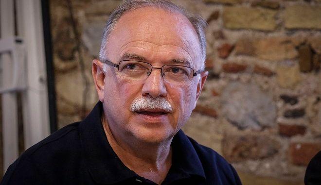 Ο αντιπρόεδρος του Ευρωπαϊκού Κοινοβουλίου Δημήτρης Παπαδημούλης