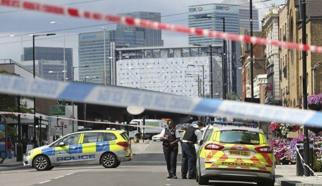 Βρετανική αστυνομία - Φωτό αρχείου