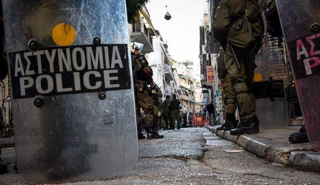 Αστυνομική επιχείρηση στα Εξάρχεια (φωτογραφία αρχείου)