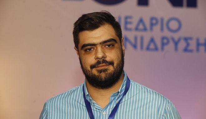 Ο υποψήφιος για την προεδρία της ΟΝΝΕΔ Παύλος Μαρινάκης (Eurokinissi-ΚΟΝΤΑΡΙΝΗΣ ΓΙΩΡΓΟΣ)