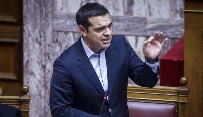 Ο πρωθυπουργός, Αλ. Τσίπρας