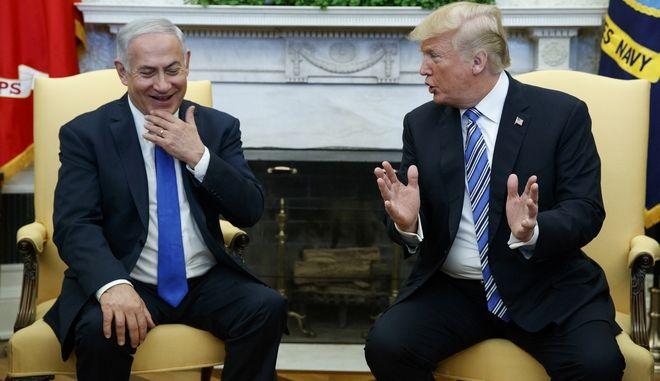Ο πρόεδρος των ΗΠΑ και ο πρωθυπουργός του Ισραήλ