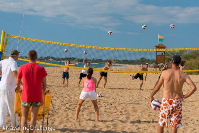 Μαθήματα beach volley by Samsung από το Triantafyllidis Beach Arena, με τον Μιχάλη Τριανταφυλλίδη