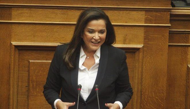 Συνεδρίαση της Ολομέλειας της Βουλής, στο πλαίσιο των προγραμματικών δηλώσεων της κυβέρνησης την Τρίτη 6 Οκτωβρίου 2015. (EUROKINISSI/ ΚΟΝΤΑΡΙΝΗΣ ΓΙΩΡΓΟΣ)