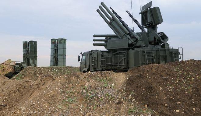 Πυραυλικό σύστημα S-400 - Φωτογραφία αρχείου