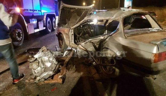 Δύο νεκροί σε τροχαίο στη Λαμία- Ο ένας οδηγός επιχείρησε να κάνει αναστροφή