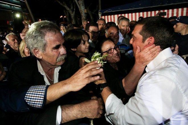 Ομιλία του Πρωθυπουργού Αλέξη Τσίπρα στο Ηράκλειο Κρήτης.