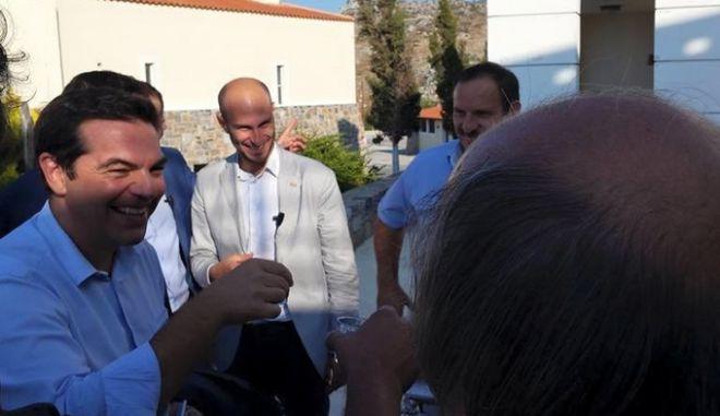 Τσίπρας από την Κρήτη: Βλέπω μια προσπάθεια παλινόρθωσης του παλιού