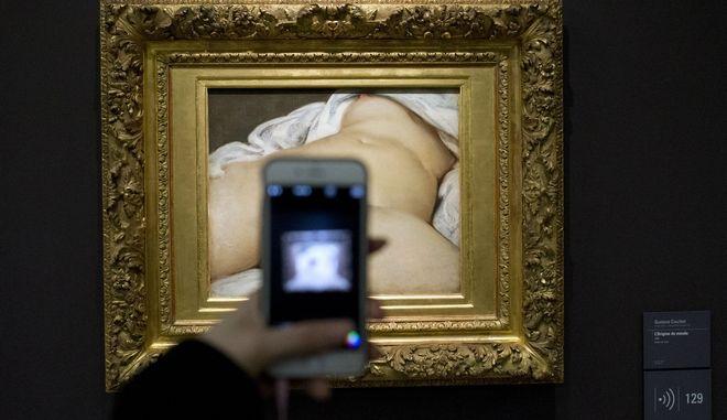"""Το έργο του Gustave Courbet's (1866) """"The Origin of the World"""""""