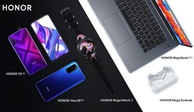 Honor View 30 Pro, Honor 9X Pro και Honor MagicBook λανσάρονται παγκοσμίως