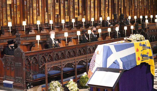 Η κηδεία του Πρίγκιπα Φίλιππου, 17 Απριλίου 2021