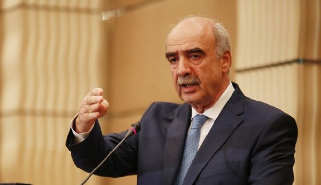 ΑΘΗΝΑ-Κατέθεσε υποψηφιότητα για πρόεδρος της ΝΔ ο Β. Μεϊμαράκης- συνέντευξη Τύπου στο ξενοδοχείο Ledra Marriott.(Eurokinissi-ΣΤΕΛΙΟΣ ΜΙΣΙΝΑΣ)