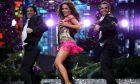Η Καλομοίρα στη σκηνή της Eurovision το 2008