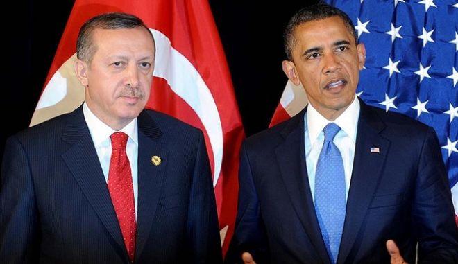 Επικοινωνία Ομπάμα - Ερντογάν: Την στήριξη της Ουάσινγκτον έχει η τουρκική κυβέρνηση