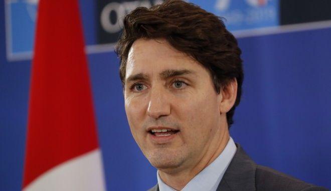 Ο Πρωθυπουργός του Καναδά, Τζάστιν Τριντ