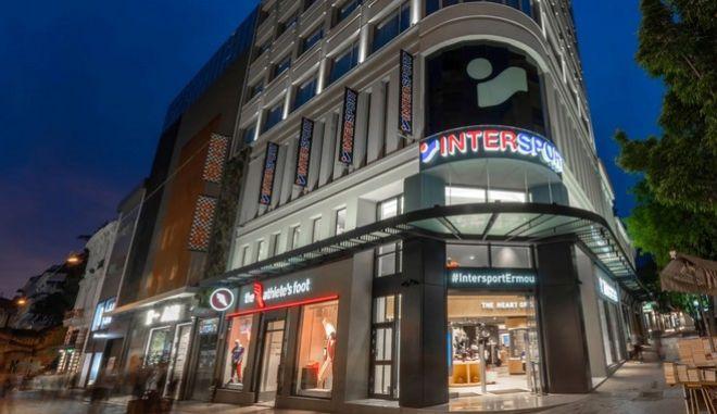 Τα σπορ συναντούν την τεχνολογία …στο νέο flagship κατάστημα INTERSPORT στο κέντρο της Αθήνας!