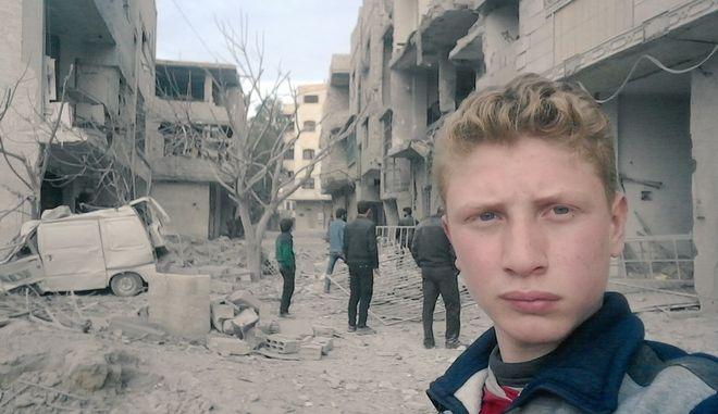 Συρία: Ένας 15χρονος καταγράφει με selfie βίντεο τη σφαγή της Γούτα