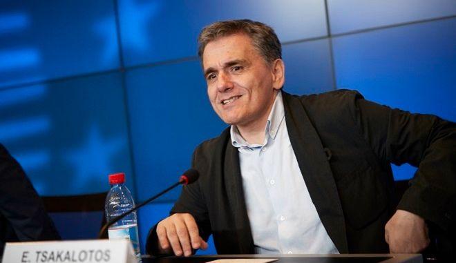 Ο υπουργός Οικονομικών, Ευκλείδης Τσακαλώτος