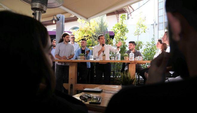 LIVE EIKONA: Η εισήγηση Τσίπρα στην εκδήλωση για τη διεύρυνση του ΣΥΡΙΖΑ στη Θήβα