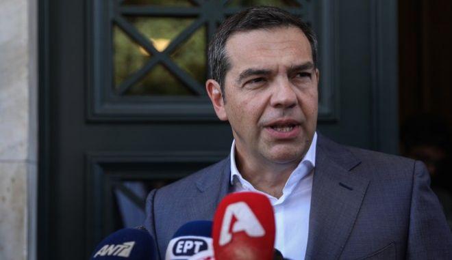 Δήλωση του Αλέξη Τσίπρα μετά τη συνάντηση με τον πρωθυπουργό