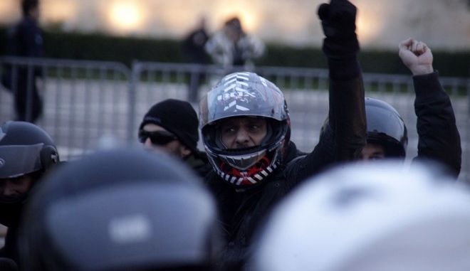 Μηχανοκίνητη πορεία αλληλεγγύης στο Νίκο Ρωμανό την Κυριακή 30 Νοεμβρίου 2014. (EUROKINISSI/ΓΙΩΡΓΟΣ ΚΟΝΤΑΡΙΝΗΣ)