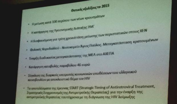 Παγκόσμια ημέρα κατά του AIDS σε μια χώρα χωρίς Εθνικό Σχέδιο Δράσης για τον HIV