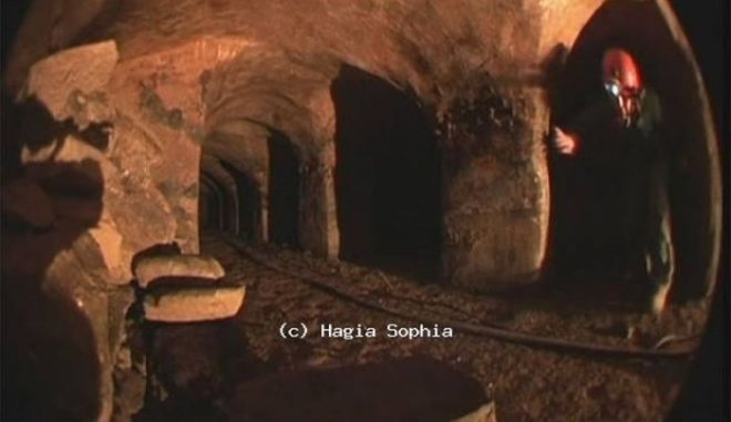 Μηχανή του Χρόνου: Τι κρύβεται στα τούνελ κάτω από την Αγιά Σοφιά; Μύθοι και αλήθεια