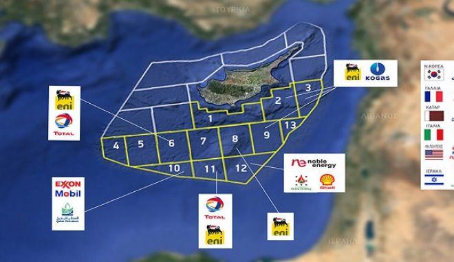 Η Κυπριακή ΑΟΖ και τα οικόπεδα της Κύπρου