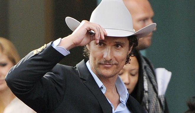 Ο ηθοποιός Matthew McConaughey